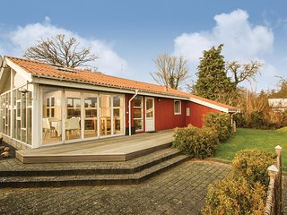 Awesome home in Bjert w/ Sauna, WiFi and 2 Bedrooms