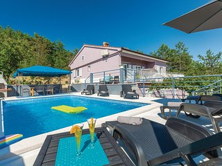 Beautiful home in Cerovlje w/ WiFi and 3 Bedrooms