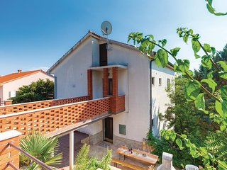 Beautiful home in Krk w/ WiFi and 3 Bedrooms