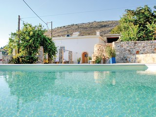 Awesome home in Malaxa, Chania w/ WiFi, Outdoor swimming pool and 2 Bedrooms