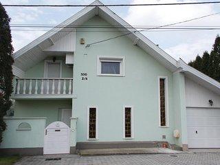 Beautiful home in Kiskunlachaza w/ Sauna and 3 Bedrooms
