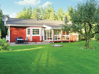 Nice home in Ambjörnarp w/ Sauna, WiFi and 3 Bedrooms (S07146)