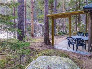 Stunning home in Vittsjö w/ 1 Bedrooms (S11058)