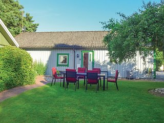 Beautiful home in Hollviken w/ WiFi and 1 Bedrooms