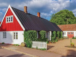 Nice home in Sjöbo w/ WiFi and 2 Bedrooms