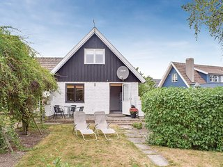 Awesome home in Abbekås w/ 2 Bedrooms