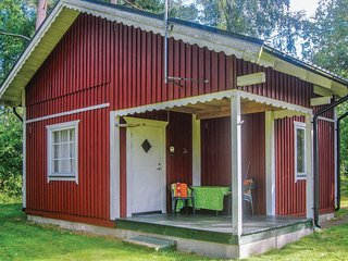 Nice home in Munka-Ljungby w/ WiFi and 1 Bedrooms