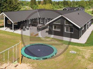 Nice home in Idestrup w/ Sauna, 8 Bedrooms and Indoor swimming pool