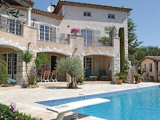 Stunning home in Vallauris w/ WiFi and 2 Bedrooms