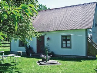 Nice home in Visby w/ WiFi and 1 Bedrooms