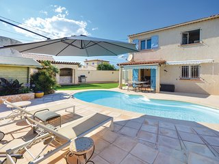 Awesome home in Antibes w/ WiFi and 3 Bedrooms