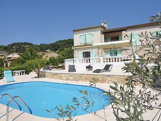 Stunning home in La Colle sur Loup w/ WiFi and 5 Bedrooms