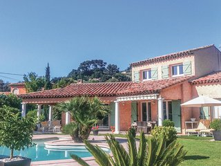 Beautiful home in Mougins w/ WiFi and 3 Bedrooms