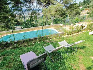 Nice home in Vallauris w/ Outdoor swimming pool, WiFi and 3 Bedrooms