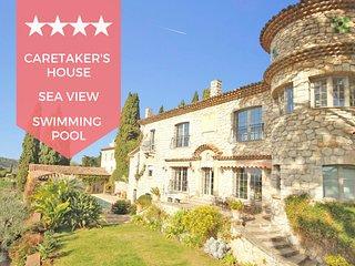 ❤️ A corner of Heaven on the French Riviera ❤️ Provencal villa, sea view !