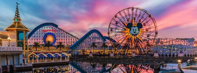 Only 1 mile from Disneyland!