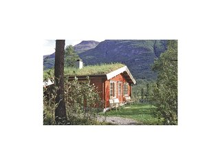 Beautiful home in Olden w/ Sauna, WiFi and 3 Bedrooms