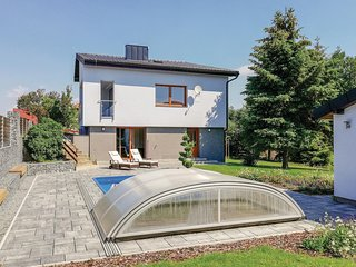 Stunning home in Tursko w/ WiFi, 3 Bedrooms and Sauna