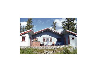 Beautiful home in Sjusjoen w/ 3 Bedrooms and WiFi