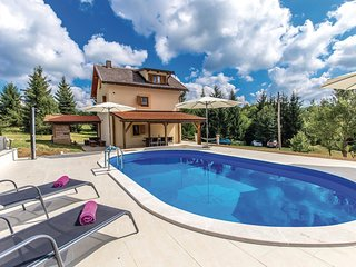 Beautiful home in Plaski w/ WiFi, 3 Bedrooms and Outdoor swimming pool (CKB149)