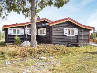 Awesome home in Sjusjøen w/ 3 Bedrooms