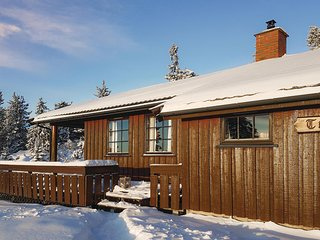 Stunning home in Sjusjoen w/ Sauna and 3 Bedrooms