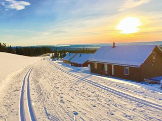 Beautiful home in Sjusjøen w/ WiFi and 4 Bedrooms