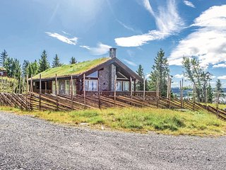 Amazing home in Sjusjøen w/ Sauna and 3 Bedrooms