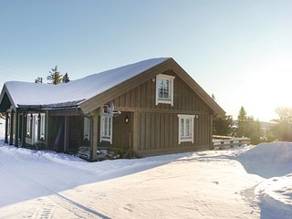 Nice home in Sjusjøen w/ Sauna and 3 Bedrooms