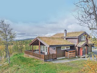 Awesome home in Hol w/ Sauna and 4 Bedrooms