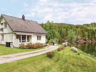 Nice home in Ulefoss w/ Sauna, 3 Bedrooms and WiFi (N34085)