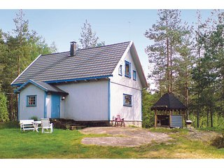 Beautiful home in Vatnestrom w/ 3 Bedrooms (N34269)