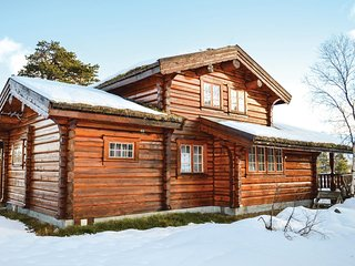 Stunning home in Hovden w/ Sauna and 5 Bedrooms (N35104)