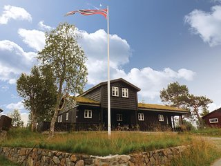 Beautiful home in Hovden w/ Sauna and 4 Bedrooms (N35090)