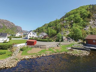 Awesome home in Åna-Sira w/ WiFi and 1 Bedrooms (N36045)