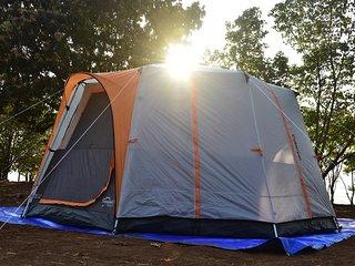 Bombay Camping Co. Luxury Tents in Lonavala, Pawna Lake.