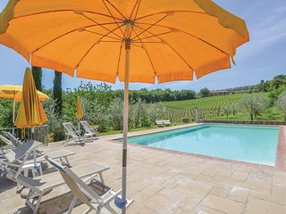 Amazing home in Bucine (AR) w/ 1 Bedrooms, Outdoor swimming pool and Outdoor swi