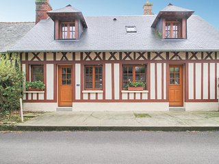Stunning home in Le Bourg-Dun w/ WiFi and 2 Bedrooms (FNS049)