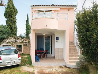 Beautiful home in Kavran w/ WiFi and 1 Bedrooms