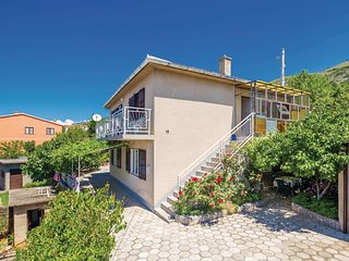 Nice home in Senj w/ WiFi and 1 Bedrooms