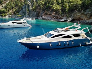 YACHT EVO MARINE 23M | CABINS 4| FOR CHARTER GREECE
