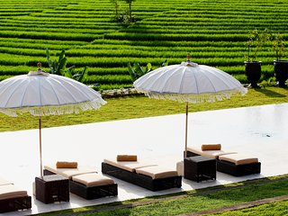 1 BR - COLONY private villa with rice fields panoramic view