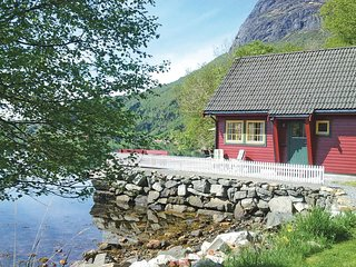 Nice home in Hyllestad w/ WiFi and 2 Bedrooms (N21019)