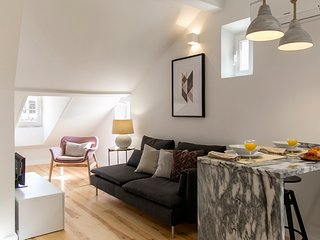 Apt in historic centre/Baixa:style and comfort (LxCor6)