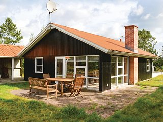 Beautiful home in Albaek w/ Sauna, WiFi and 3 Bedrooms (A19241)