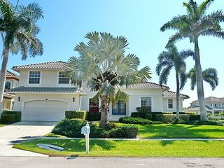 Inviting waterfront home w/ heated pool, hot tub & short walk to beach
