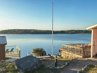 Awesome home in Norrtalje w/ Sauna, WiFi and 1 Bedrooms