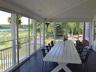 Stunning home in Köpmannebro w/ Sauna and 4 Bedrooms