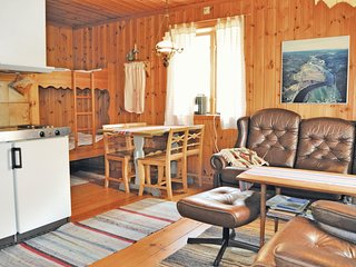 Stunning home in Stöllet w/ Sauna, WiFi and 1 Bedrooms (S45181)