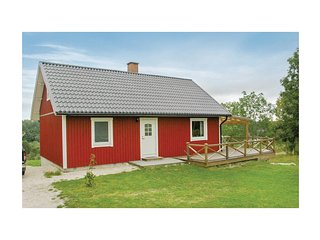 Beautiful home in Asensbruk w/ Sauna and 3 Bedrooms
